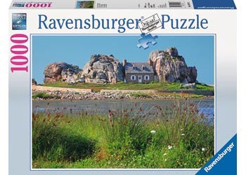 Ravensburger 1000pc Jigsaw - Houses in Brittany