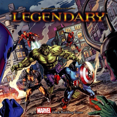"Marvel - ""Legendary"" Deck Building Game"