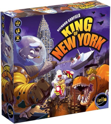 King of New York PLUS Power Up Expansion  - Second Hand