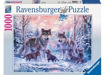 Ravensburger 1000pc Jigsaw - Arctic Wolves