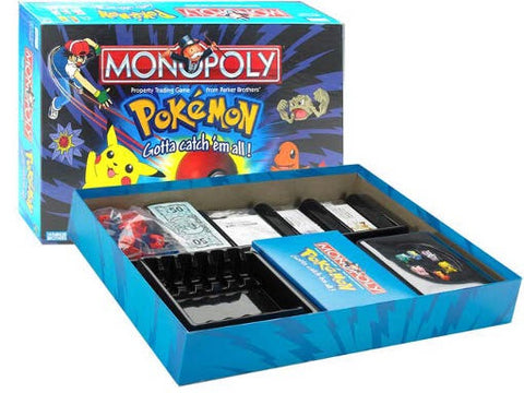 Monopoly Pokemon Edition - Second Hand