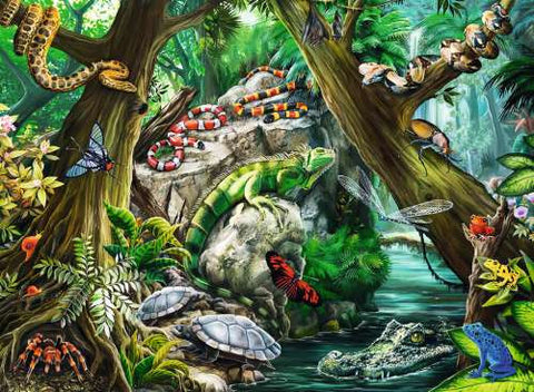 Ravensburger 100 Piece Jigsaw - Creepy Crawlies