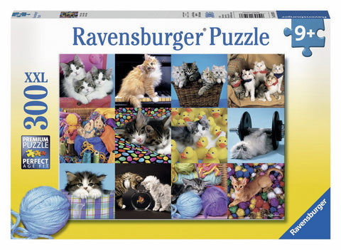Ravensburger 300 Piece Jigsaw - Kitten Collage