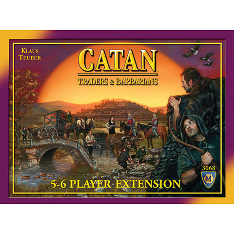 Catan: Trader and Barbarians – 5-6 Player Extension 4th Edition