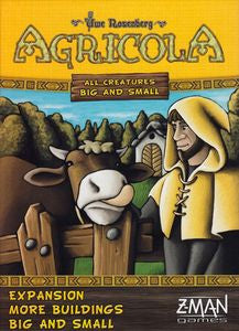 Agricola: All Creatures Big and Small – More Buildings Big and Small