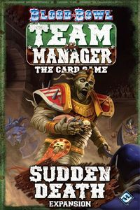 Blood Bowl: Team Manager – The Card Game – Sudden Death - Second Hand