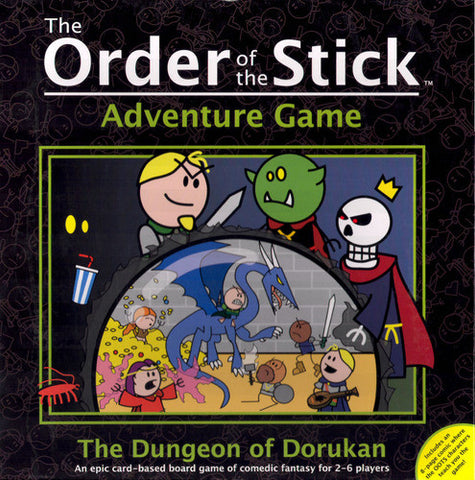 Order of the Stick Dungeon of Durokan