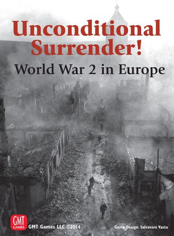 Unconditional Surrender! World War 2 in Europe - Mounted Map Boards