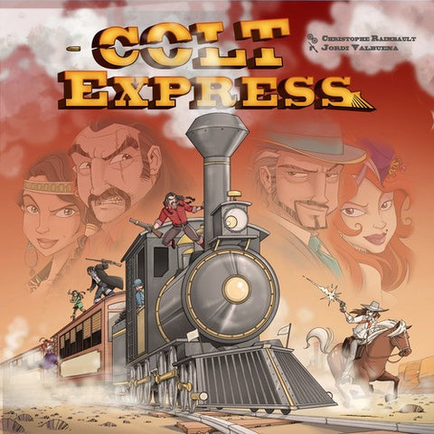 Colt Express - Rock Decoration Promo