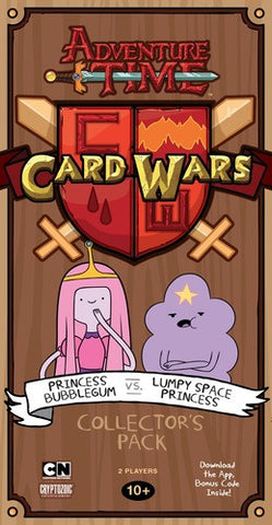 Adventure Time Card Wars: Bubblegum vs Lumpy