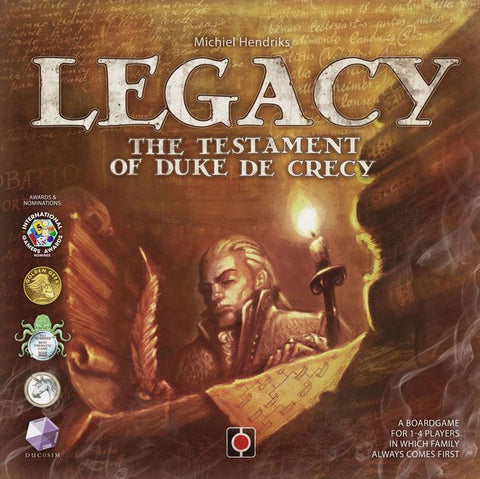 Legacy: The Testament of Duke de Crecy - Display Copy Unpunched