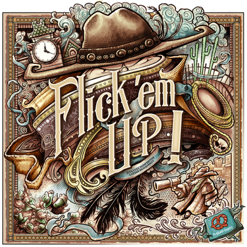 Flick 'Em Up - Wooden Edition includes Blacksmith Promo - Second Hand