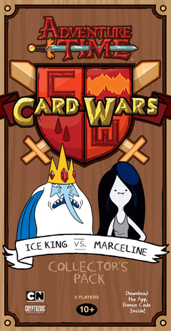 Adventure Time Card Wars: Ice King Vs Marcelline