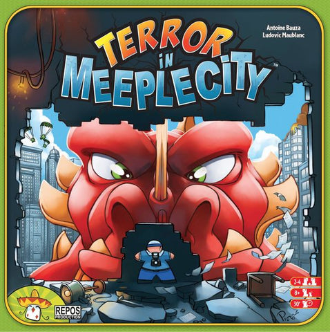 Terror in Meeple City - Display Copy/Contents in shrink