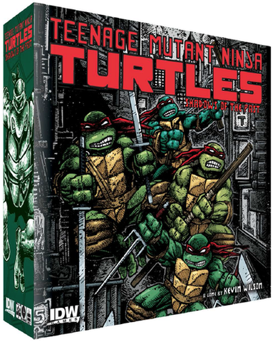 Teenage Mutant Ninja Turtles: Shadows of the Past: KS Edition