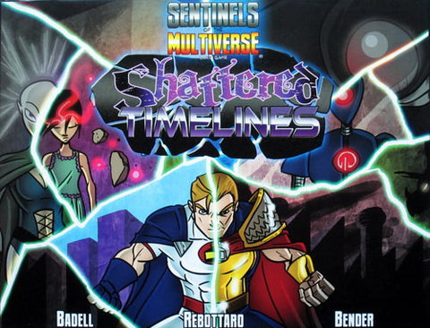 Sentinels of the Multiverse Enhanced Edition PLUS Shattered Timelines Expansion- Second Hand