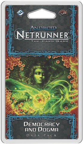 "Android Netrunner LCG: ""Democracy and Dogma"" Data Pack"