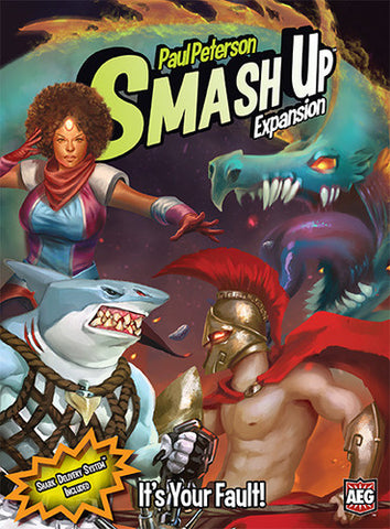 Smash Up - It's Your Fault! Expansion