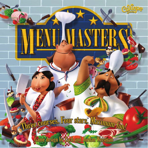 Menu Masters - Second Hand
