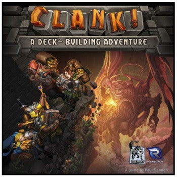 Clank!: A Deck-Building Adventure w/ Snack Table Promo - Second Hand