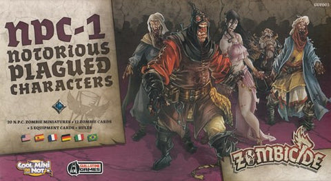 Zombicide: Black Plague – NPC1