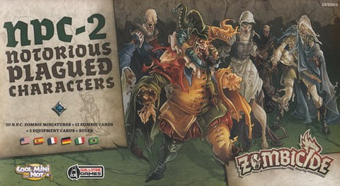 Zombicide: Black Plague – NPC2