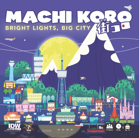 Machi Koro - Bright Lights, Big City