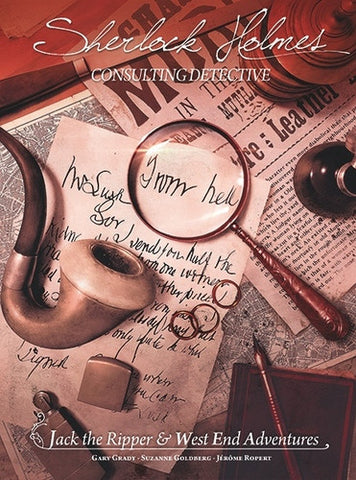 Sherlock Holmes Consulting Detective: Jack the Ripper & West End Adventures - Second Hand