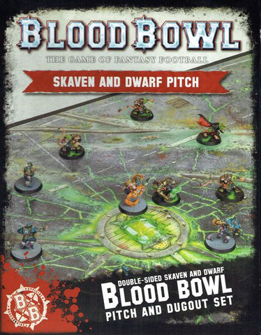 Blood Bowl - Skaven and Dwarf Pitch