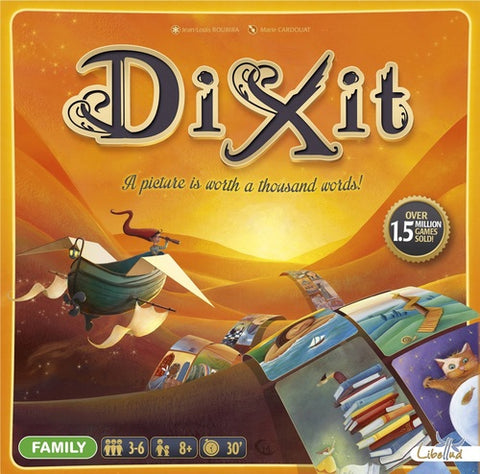 Dixit w/ 5 Card Promo Pack - Second Hand
