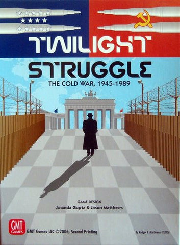 Twilight Struggle Deluxe - Display Copy - Cards in Shrink