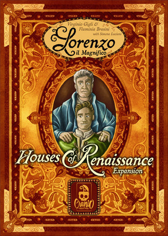 Lorenzo il Magnifico: Houses of Renaissance w/ Promos - Due in store 29/11/17 shipped direct from Essen.