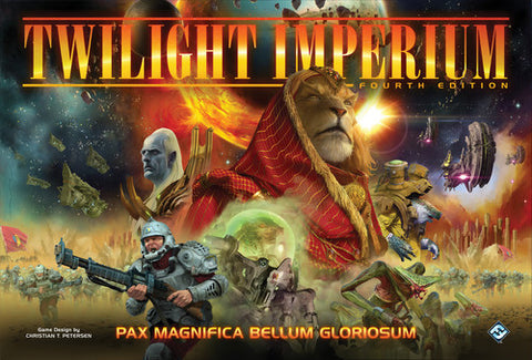 Twilight Imperium 4th Edition - With Deluxe Hard Cover Rulebook