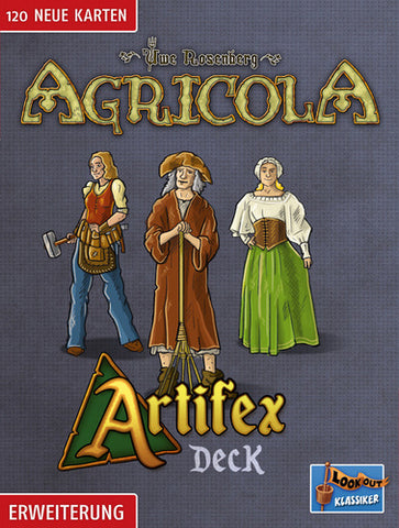 Agricola: Artifex Deck - English Edition