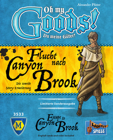 Oh My Goods!: Escape to Canyon Brook - Due in store 29/11/17 shipped direct from Essen.