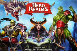 Hero Realms - Second Hand - Includes two expansions.