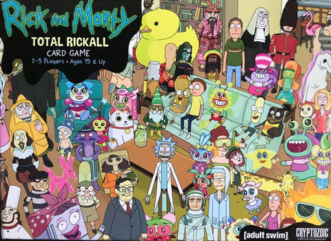 Rick and Morty: Total Rickall Card Game - Second Hand