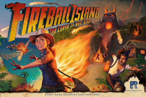 Fireball Island: The Curse of Vul-Kar – Treasure Trove inc/ deluxe marbles.
