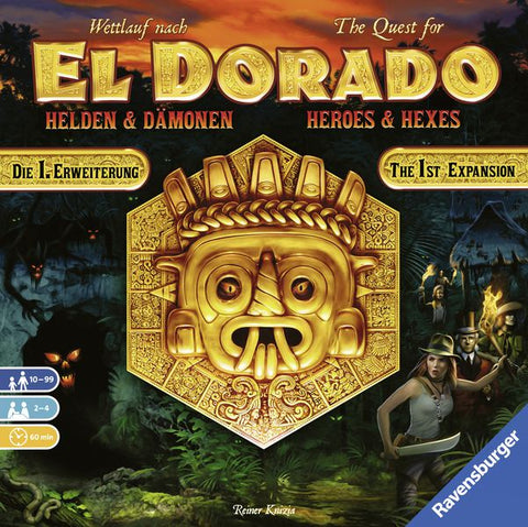 The Quest for El Dorado: Heroes and Hexes Expansion
