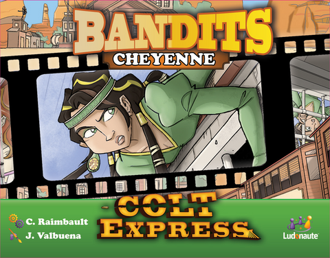 Colt Express: Bandits – Cheyenne includes Cursed Loot Promo