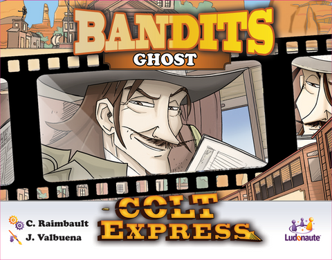 Colt Express: Bandits – Ghost includes Cursed Loot Promo