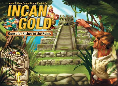 Incan Gold - 2018 Edition w/ Meeples