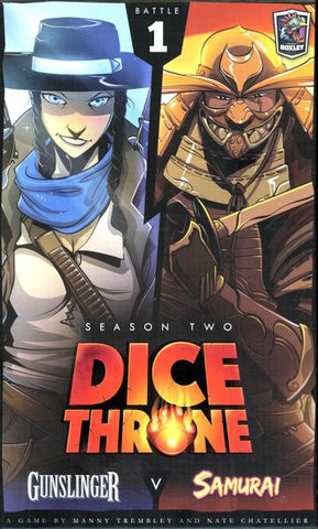 Dice Throne: Season Two – Gunslinger v. Samurai - Second Hand