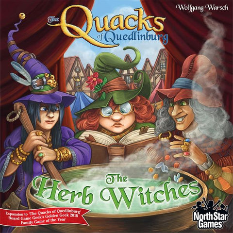The Quacks of Quedlinburg - The Herb Witches Expansion - Due in 11/11/19