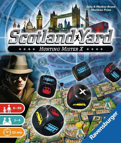 Scotland Yard: The Dice Game