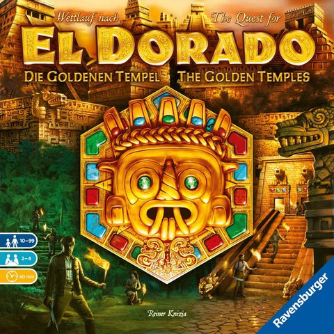 The Quest for El Dorado - The Golden Temples Expansion - Due in store 31/10/19