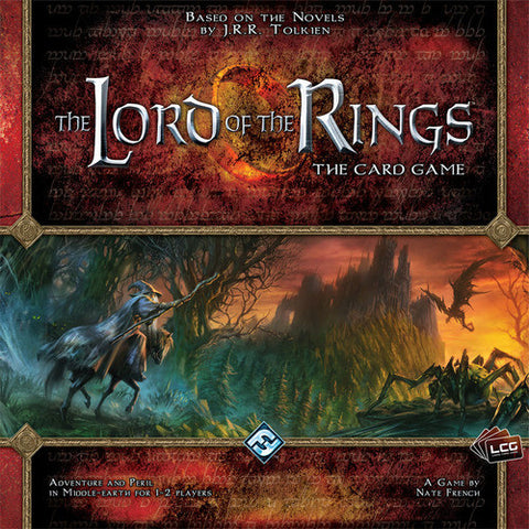 The Lord of the Rings: The Card Game - Second Hand w/ First Expansion