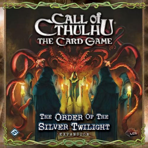 Call Of Cthulhu LCG: Core Set - Second Hand PLUS Order of the Silver Twilight Expansion