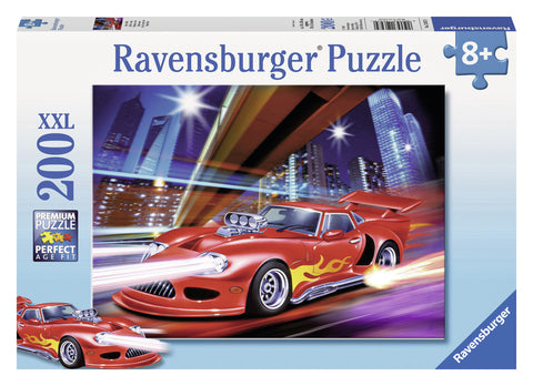 Ravensburger 200 Piece Jigsaw - Fast Sports Car