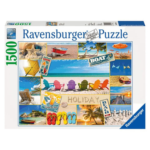 Ravensburger 1500 Piece Jigsaw - Happy Holiday